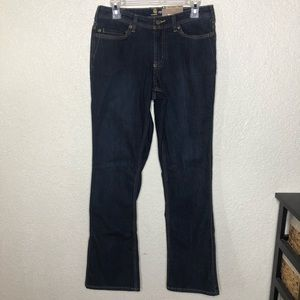 Carhartt Relaxed Fit Jeans Size 6 Dark Wash NWT